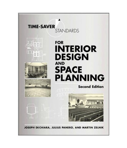 Time saver standards for interior design and space for Interior design books india