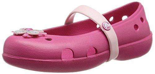 CrocsKeeley Springtime Ps - Ballerine da ragazza', colore Rosa (Rapp), taglia 28-29 EU