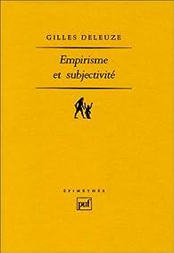Empirisme et subjectivité par Deleuze