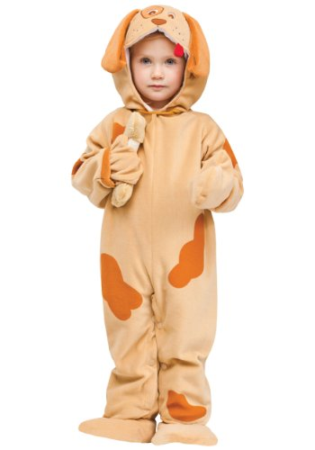 Fun World Costumes Baby'S Playful Puppy Infant Costume, Tan, Large front-906896