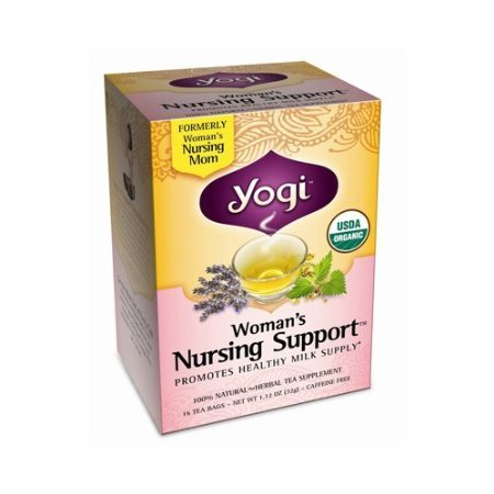 Yogi Tea Woman'S Nursing Support - Caffeine Free - 16 Tea Bags