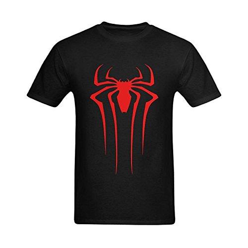 XouAEN Men's Spider-Man Spider Logo T-shirt Size XL