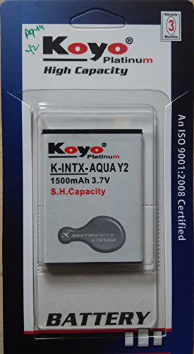 Koyo 1500mAh Battery (For Intex Aqua Y2)