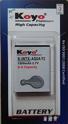 Koyo 1500mAh Battery (For Intex Aqua Y2)