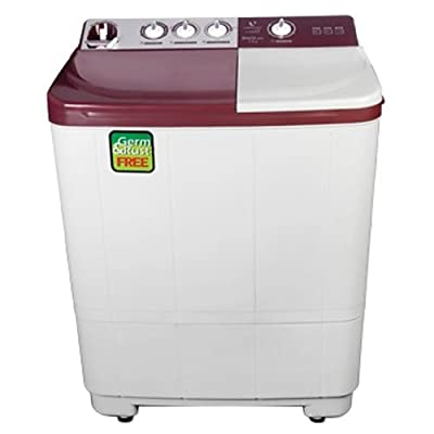 Videocon VS72H13 Gracia Exe Semi-automatic Top-loading Washing Machine (7.2 Kg, Dark Maroon)