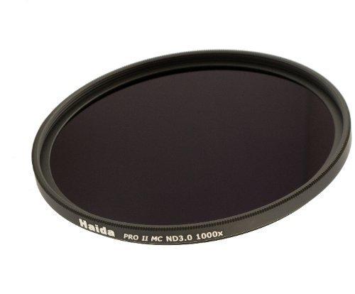 Nouveau: Filtre à densité neutre MC Pro II ND1000x (3,0) de 58mm de la série professionnel avec une nouvelle multicouches et des bouchons objectif