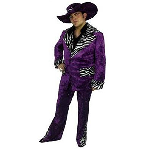 Plus Size Men's Mac Daddy Costume