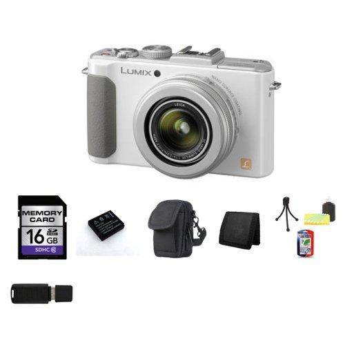 Panasonic Lumix Dmc Lx7w 10 1 Mp Digital Camera White