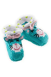 Joobles Organic Baby Booties - Kitty Katz