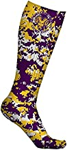 West Chester University Golden Rams Socks Digicamo Design pair
