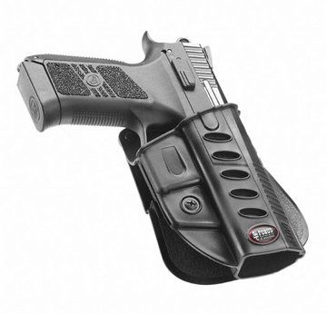 Fobus Tactical Cz Duty Rt Standard Right Hand Conceal Carry Polymer Roto Paddle Holster For Cz 75 P-07 Duty & P09
