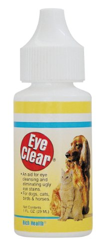 Miracle Care by Miraclecorp/Gimborn Eye Clear Wash for Dogs and Cats, 1-Ounce