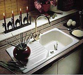 Astracast keramikspule einbauspule garrigue 10 weiss for Keramikspülbecken