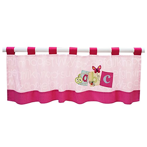 Lambs & Ivy Sweet ABC Window Valance - 1