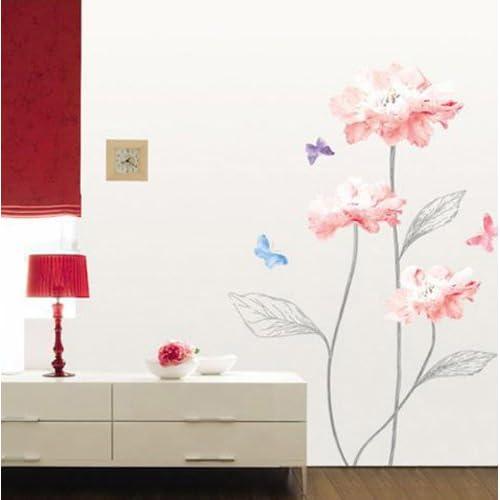 Flower removable Vinyl Mural Art Wall Sticker Decal