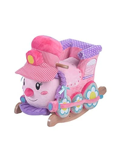 Rockabye Kid's Jane The Train Play & Rock Ride-On Rocker, Multi