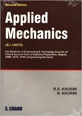 A Textbook Of Applied Mechanics 13th  Edition price comparison at Flipkart, Amazon, Crossword, Uread, Bookadda, Landmark, Homeshop18
