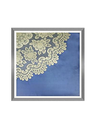 Aviva Stanoff Hand Worked Circle Lace Hand-Pressed on Twilight Velvet Artwork