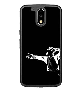 Dancer Clipart 2D Hard Polycarbonate Designer Back Case Cover for Motorola Moto G4
