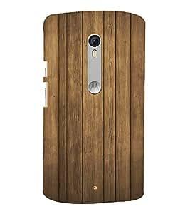 Brown Teak Wood 3D Hard Polycarbonate Designer Back Case Cover for Motorola Moto G3 :: Motorola Moto G (3rd Gen)