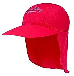 SunWay Baby Kids Girls Boys Red Legionnaire Hat Cap UV protective (UPF 50+) (Baby 6-24 months)