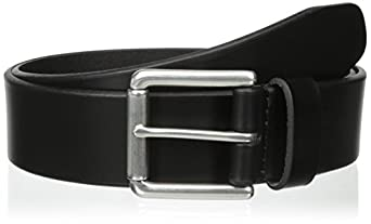 Dockers Men's Bridle Belt, Black, 32