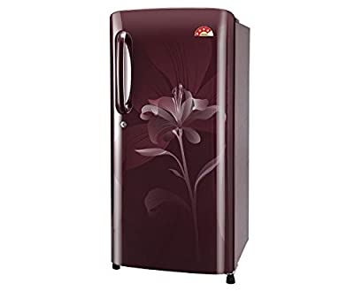 LG GL-B221ASLS Direct-cool Single-door Refrigerator (215 Ltrs, 4 Star Rating, Scarlet Lily)