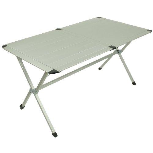10T-AluTab-Trio-Camping-Tisch-6-Personen-140x80cm-mit-Lamellensystem-Tischplatte-Aluminium