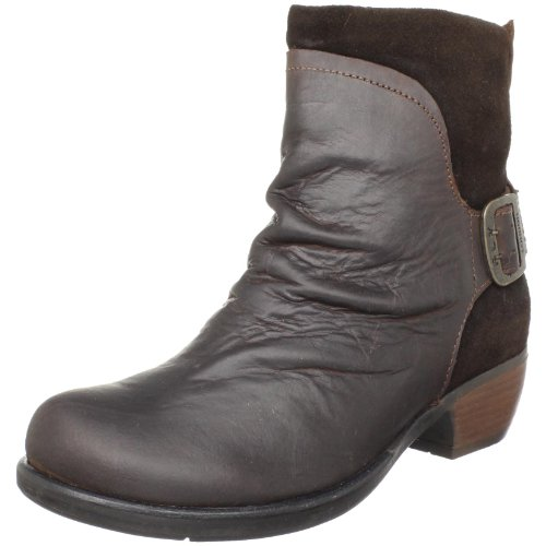 Fly London Women's Mel Dark Ankle Boot Brown P141633001 6 UK