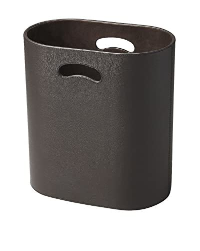 Butler Specialty Lido Leather Storage Basket, Brown
