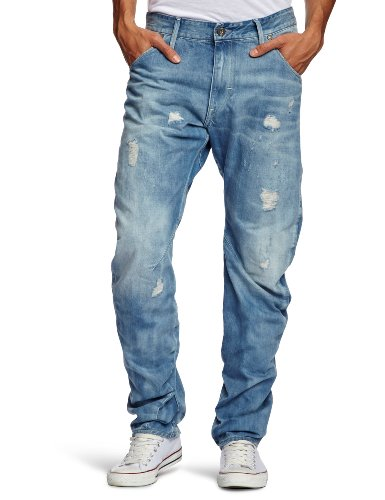 G-Star Raw Arc Loose Tapered Men's Jeans Light Agd Des T.P W32 INxL34 IN - 20.0.50223.4868.3018.34.32
