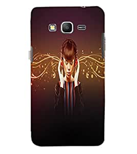 SAMSUNG GALAXY GRAND PRIME MUSIC GIRL Back Cover by PRINTSWAG