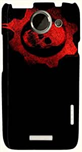 Dazzling multicolor printed protective REBEL mobile back cover for HTC One X+ ( X Plus ) D.No.N-L-14652-htcX