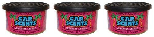 california-car-scents-f332-coronado-cherry-ambientador-para-coche-3-unidades