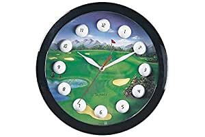Golf Sports Themed Collectible Wall Clock Decorative Hanging