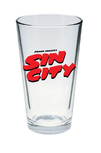 Diamond Select Toys Sin City Movie Logo Pint Glass