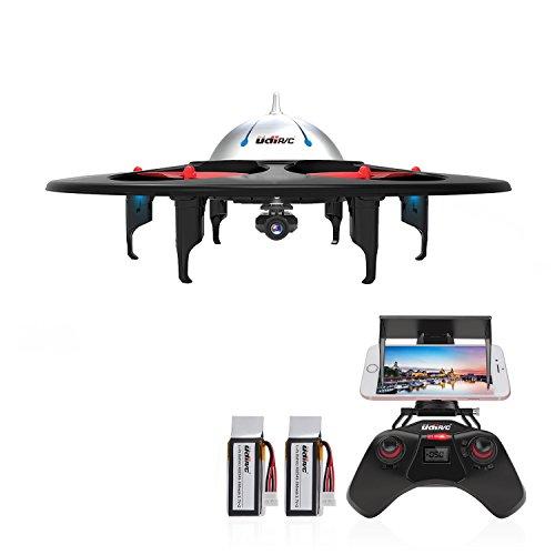 DBPOWER UDI U845 WiFi FPV UFO RC Drone with HD Camera 2.4GHz 4CH 6