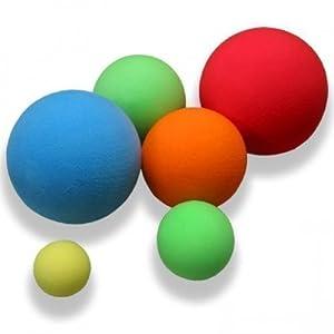 Schaumstoffball / Weichschaumball Ø 16 cm - Rot
