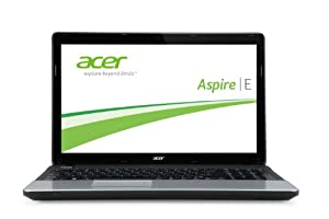 Acer Aspire E1-531-B9604G50Mnks 39,6 cm (15,6 Zoll) Notebook (Intel Pentium B960, 2,2 GHz, 4GB RAM, 500GB HDD, Intel HD Graphics, Win 8) schwarz