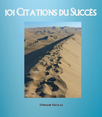 Couverture du livre 101 Citations du Succès