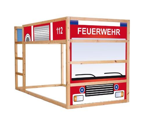 Bieten Feuerwehrauto Mobelsticker Aufkleber Fur Das Kinderzimmer