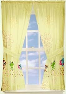 Littlest Pet Shop Curtains Set Animals Window Drapery