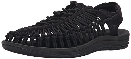 KEEN Men's UNEEK Sandal, Black/Black, 11 M US - 1