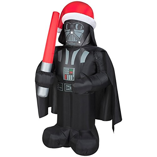 5 Feet Tall Star Wars Darth Vader Christmas Airblown Inflatable Air Blown