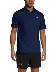 Under Armour Men's UA Performance Polo - Academy/Steel, Small