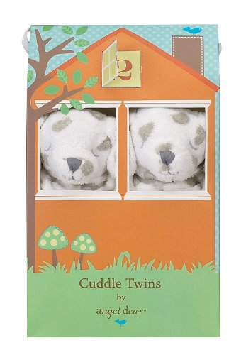 Angel Dear Cuddle Twin Set, Dalmation Spot