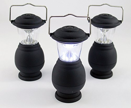 Camping Lanterns 3 Pack LED Lamps Emergency Lights Camping Gear Lanterns LED Desk Lamps Emergency Mini LED Lights Lamp For Home Vehicle Office Garage RV Camp Boat Sportman Battery Operated LED Lantern Lights Lamps Cordless Ideas In Life TM