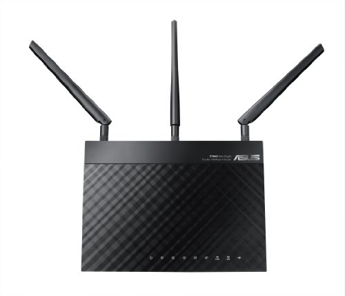 Asus Rt-N66U Dual-Band Wireless-N900 Gigabit Router front-686058