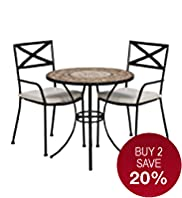 Rosemoor Bistro Table & 2 Chairs
