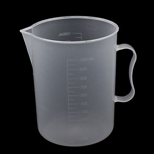 uxcell 1000ML Measuring Cup Jug Surface Spoon Cooking Bakery Kitchen